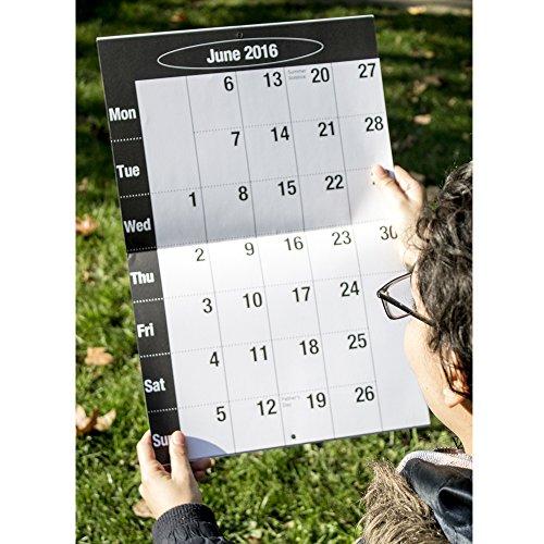 Top 2016 Big Print Wall Calendar Online