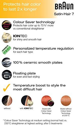Braun Satin Hair 7 Colour ST750 Haarglätter - 5