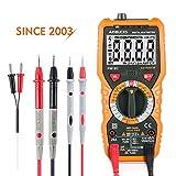 Multímetro Digital Profesional Janisa PM18C DC / AC Voltaje de Corriente Amperimetro Voltímetro Capacitancia Resistencia Continuidad Diodo Tester sin