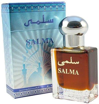 Unscented Kegel (Al-Haramain Salma Rosenöl-Parfüm, Zigarettenschachtelgröße,15ml, für Frauen)