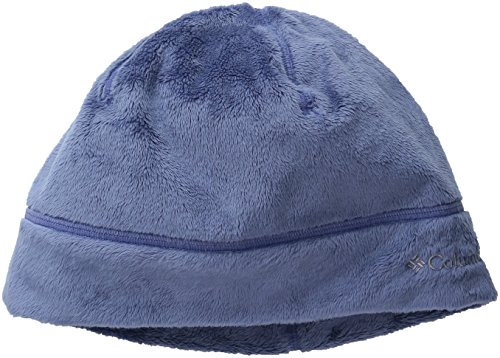 Columbia Adult Pearl Plush Heat Hat, Bluebell, Small/Medium Columbia Pearl Plush