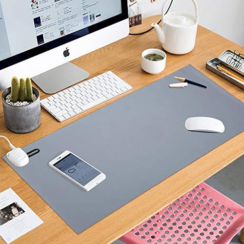 E·Durable 30 x 60 cm Mousepad für den Schreibtisch, großer Tisch, Schreibtischunterlage -