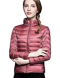 Cherry Chick - chaqueta de plumón para mujer, ultraligera (ideal para primavera y otoño