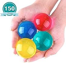 Kuuqa Perlas de Agua Gel Cristalino del Agua Agua Jelly Perla Diámetro 1.5