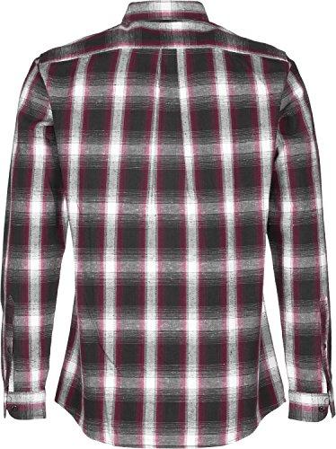 Levi's Skateboarding Reform Camicia manica lunga rosso bianco quadri