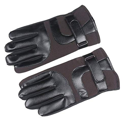 CamKpell Männer Warme Telefingers Handschuhe Soft Plus SAMT Ski Handschuhe Winddicht Motorrad Handschuhe Für Frühling Herbst Winter
