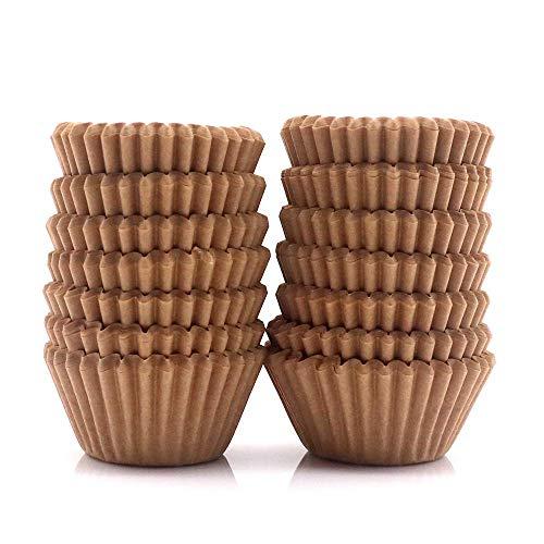 STARUBY 300 Stück Mini Muffinförmchen Backförmchen Papier Förmchen Cupcake Wrapper Fällen Liners für Dessert Hochzeit Geburtstag Party