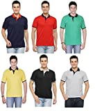 #8: Rico Sordi set of 6 men's half sleeve polo coordinate combo