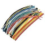 Efanr 70pieces/Pack heat Shrinkable Tubo Wire Wrap Surtido 2: 1Shrink Ratio forrado de adhesivo Heat Shrink Tubo de cable aislante Kit