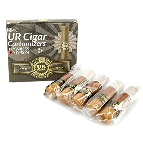 Cartomizador YW4274 (Sabor: puro cubano) para Puro electrónico recargable UR-CIGAR M (sin nicotina y sin tabaco)