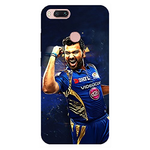 Xiaomi Redmi Mi A1 Rohit Sharma Mumbai Indians Designer Mobile Back Cover by Wooo/ Rohit Sharma Mumbai Indians Printed Cover For Xiaomi Redmi Mi A1 By Wooo