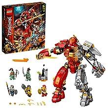 LEGO NINJAGO Mech Pietra-Fuoco, Figura d'azione Ninja, 71720