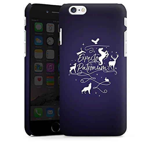 Apple iPhone 8 Hülle Case Handyhülle Expecto Patronum Harry Potter Statement Premium Case matt