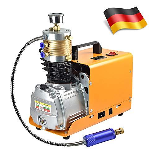 MENGS 400Bar 40MPA 6000PSI PCP Kompressor Hochdruck Druckluftpumpe mit Aluminium Material