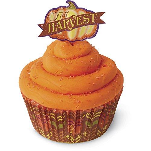 Wilton Cupcake Combo Pack 24/Pkg-Harvest -