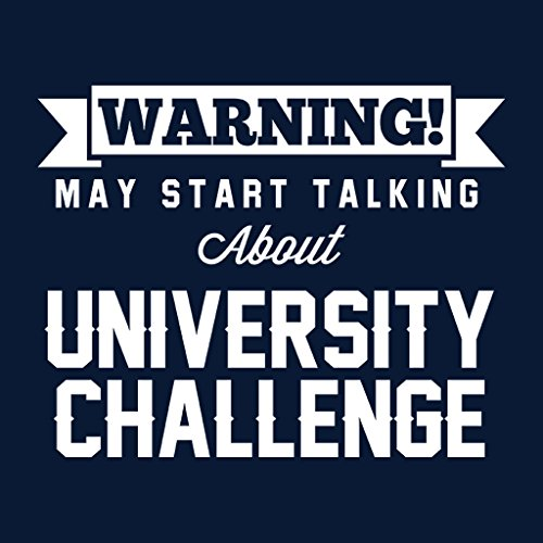 Coto7 Warning May Start Talking About University Challenge Women's Vest Navy blue