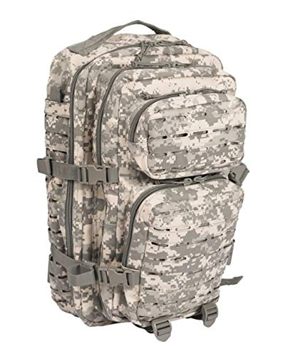 Mil-Tec US Assault Pack Large Laser Cut at-digital Digital Rucksack