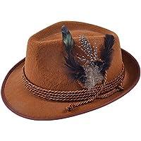 Bristol Novelty BH574 Oktoberfest Hat Brown, One Size