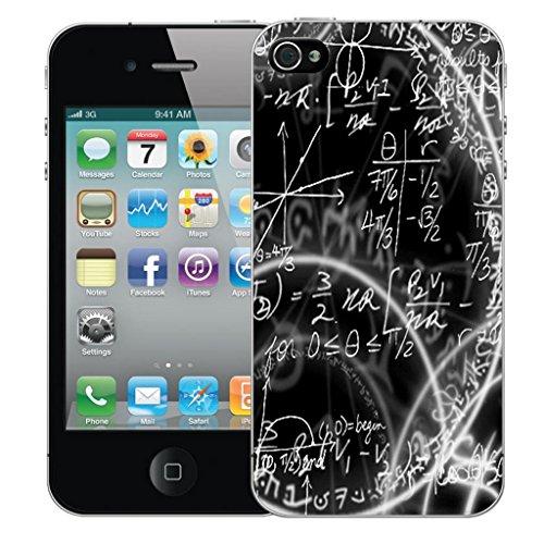 Nouveau iPhone 5s clip on Dur Coque couverture case cover Pare-chocs - noir aries Motif avec Stylet algebra