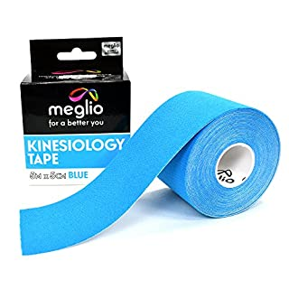 Kinesiology Tape Uncut - Muscle Tape for Sports Strapping - 5m x 5cm Roll - Latex Free