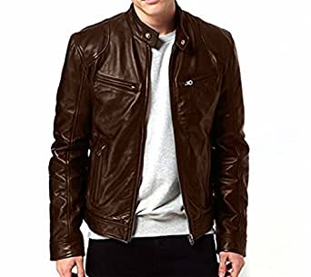 Zahr Bomber Series Men's Biker Jackets: Amazon.in: Clothing ...