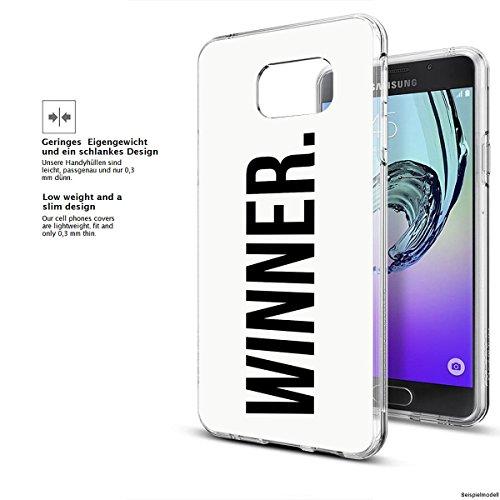 Motivo Serie 1 Custodia Rigida Iphone - Gatto corto, Samsung Galaxy A3 2017 Vincitore dot bianco
