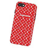 WRAP? Supreme Logo iPhone 6/6S Coque, Hot Supreme x LV Logo Hard Plastic Phone Housse...