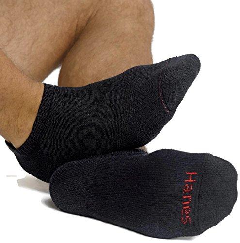 Hanes Classics Men`s ComfortSoft® No-Show Socks