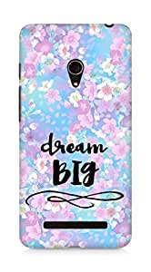 AMEZ dream big Back Cover For Asus Zenfone 5