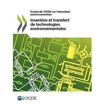 Invention et transfert de technologies environnementales