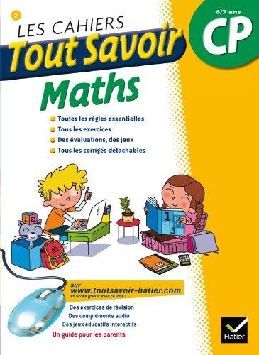 Les cahiers Tout Savoir Maths CP