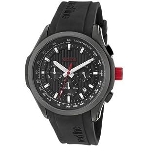 Red Line RL50028VDBB01 - Reloj de Caballero movimiento de cuarzo con correa de caucho Negro de Red Line