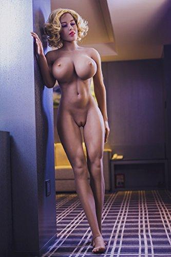 Raycity 166 cm 65,35 zoll Real TPE Sex Puppe Voller Größe Körper Lebensechte Liebespuppe Mit Realistische Pussy Mund Arsch Für Männliche Masturbation Masturbator mit Vagina und Anal 09