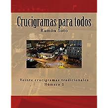 Crucigramas para todos: Veinte crucigramas tradicionales: Volume 1 (Crucigramas para todos - Formato grande)
