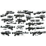 Brickarms Blaster Set De Armas para figuras LEGO p. ej. para Star Wars 22 piezas