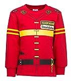 shirt-side gmbh Kinder Uniform Sw Feuerwehr rot 92 bis 134 (92-98)