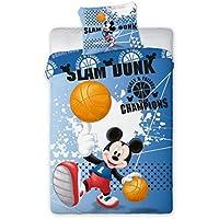 Disney Mickey Mouse 2Set di biancheria da letto set 140x 200cm