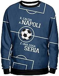 E 'Una Cosa Seria Sudadera Hombre–Napoli Urban Mentality Sweatshirt Man–SSC Napoli 1926de fútbol camiseta