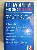 Image de Le Robert de poche. Dictionnaire de la langue fran