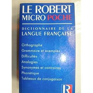 Le Robert de poche. Dictionnaire de la langue fran