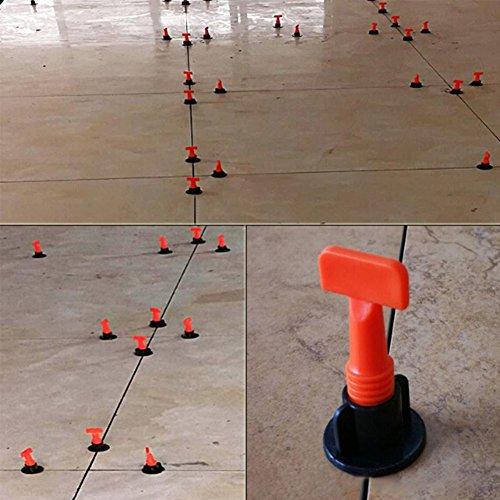 ETbotu Parkett-Fliesen Leveling System leveler Kunststoffclip Locator Spacer Plier Locator-system