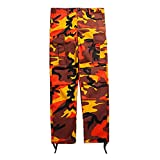 Best Cargo Pants - Hibote Camo Cargo Pants Uomo Womens Baggy Tactical Review