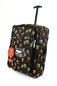 Lightweight Hand Luggage Wheeled Travel Holdall Suitcase Trolley Cabin Approved