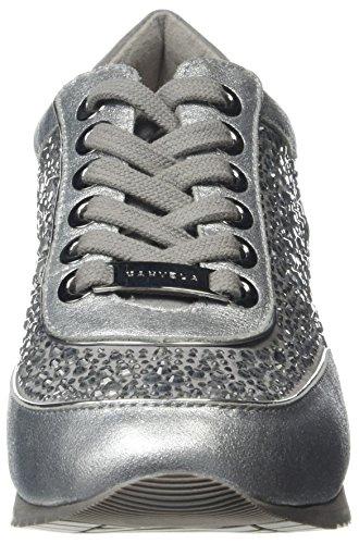 Carvela Damen Lemmy Np Sneakers Silber (Silver)