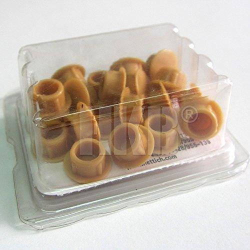 HKB ® 20 Stück Abdeckkappen zum Eindrücken, beige, erle/buche, ø = 8mm, Hersteller Hettich, Artikel-Nr. 81683