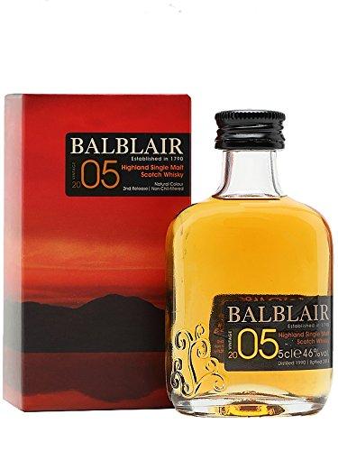 Balblair Vintage 2005 Single Malt Whisky 0,05 Liter Miniatur