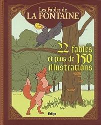 Les fables de la Fontaine, 22 fables et plus de 150 illustrations