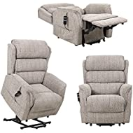 Sandringham Dual Motor Riser recliner electric mobility chair with waterfall backrest