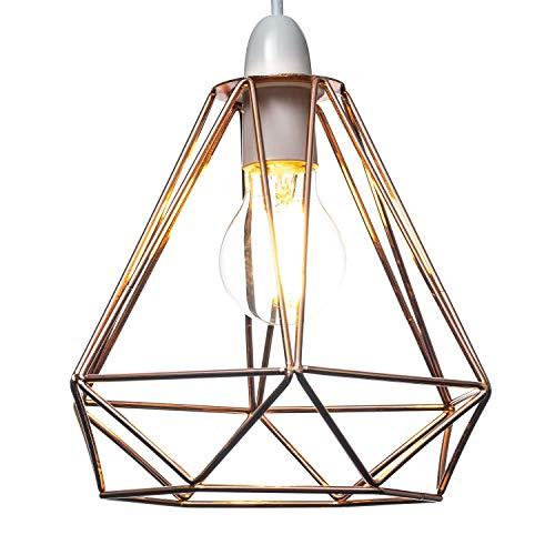 papillon cage en cuivre et noir cristal Home Treats Abat-jour 6 /él/égants motifs de licorne lustre