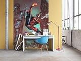 Komar 'Marvel Spider-Man Jump Papier Peint, Multicolore, Set de 4pièces